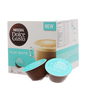 Cà phê viên nén NesCafé Dolce Gusto Flat White 144g (9g x 16 viên)