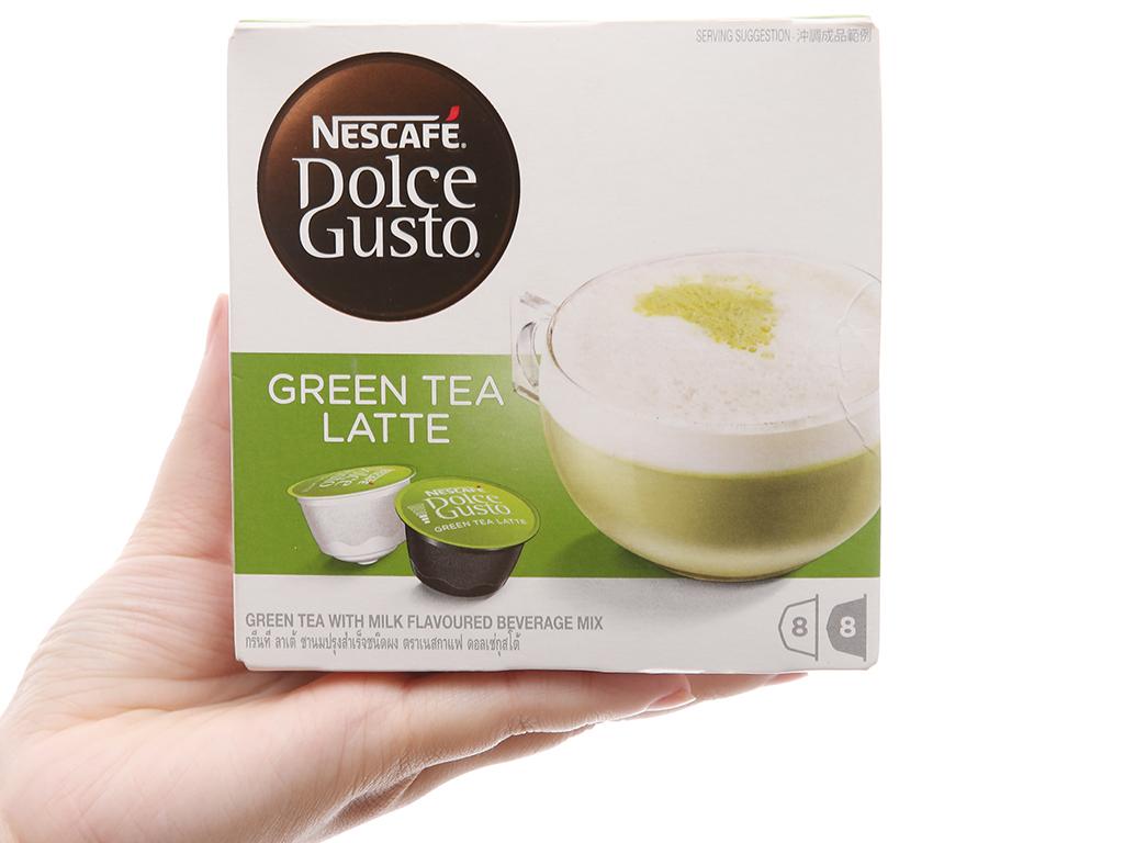 NesCafé Dolce Gusto Green tea Latte 160g (10g x 16 viên) 1