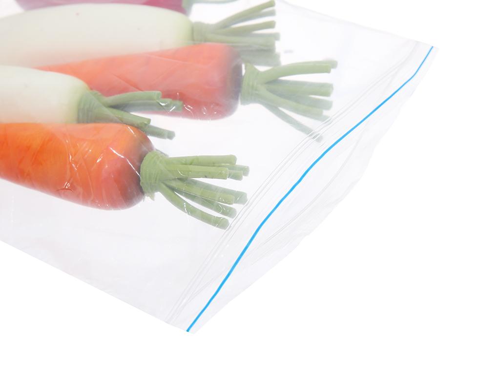 Túi Zipper tự hủy sinh học Green Eco 31cm x 26.5cm (20 túi) 4