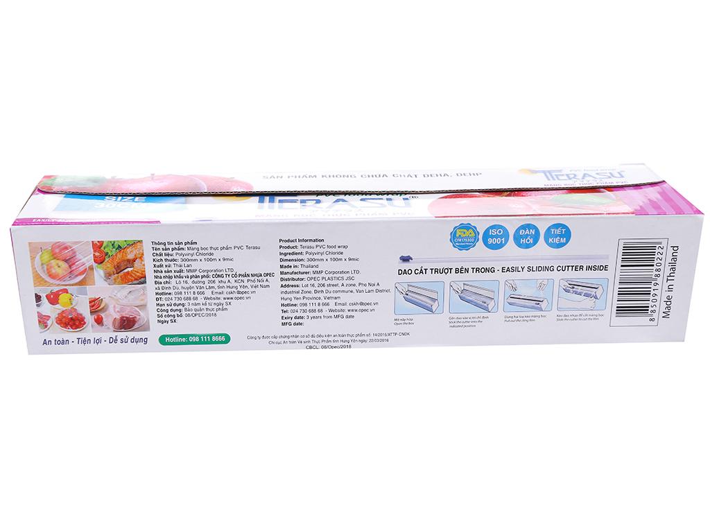 Màng bọc thực phẩm PVC Terasu 30cm x 200m 2