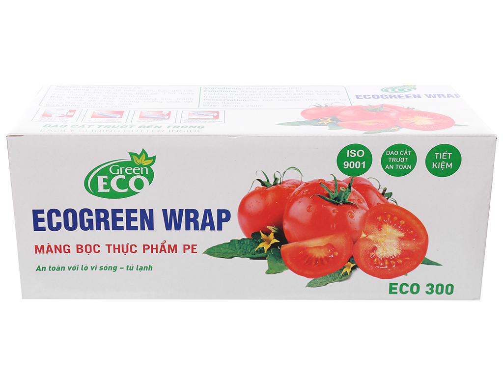 Màng bọc thực phẩm PE Green Eco 30cm x 250m 1