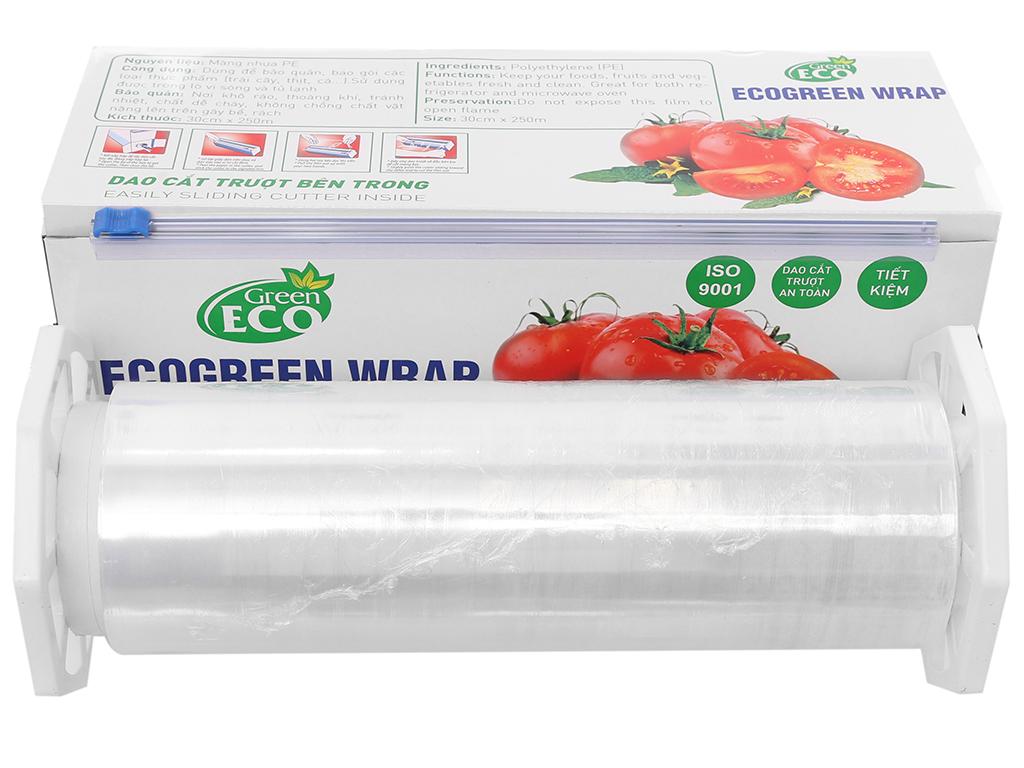 Màng bọc thực phẩm PE Green Eco 30cm x 250m 3