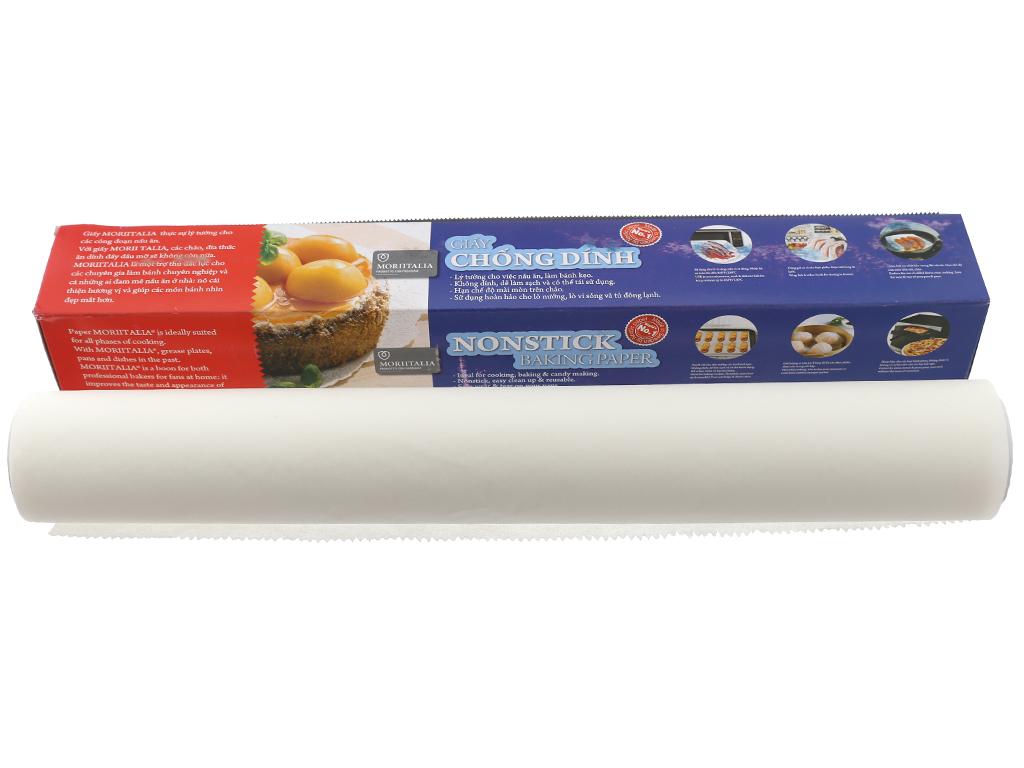 Giấy chống dính Moriitalia 30cmx5m 5