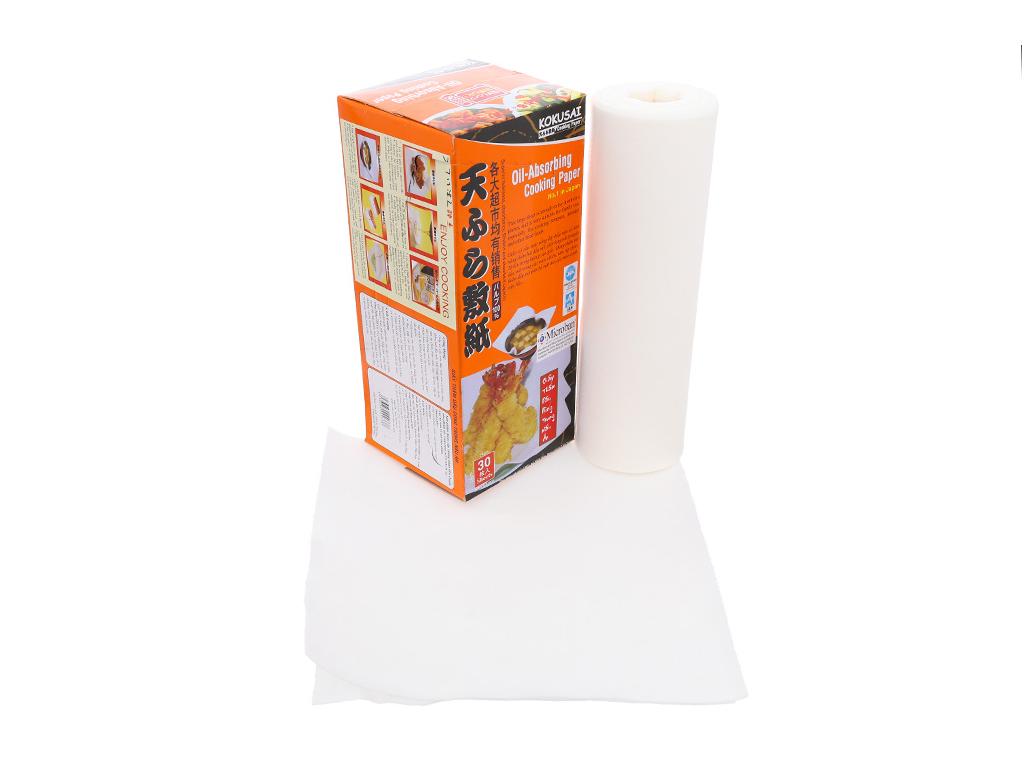 Giấy thấm dầu 24 x 24cm Kokusai (30 tờ) 3