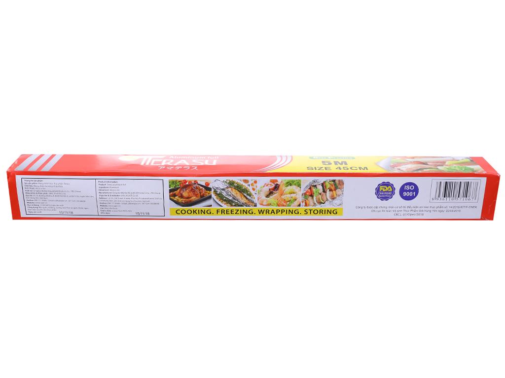 Màng nhôm thực phẩm Terasu 45cm x 5m 2