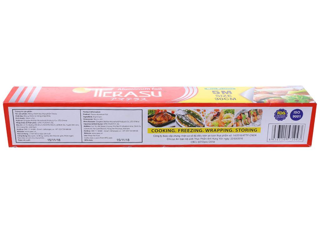 Màng nhôm thực phẩm Terasu 30cm x 5m 3
