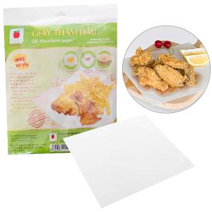 10 tờ giấy thấm dầu Tuyền Hưng Phú 24cm x 25cm