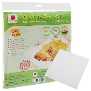 Giấy thấm dầu 24 x 25cm Tuyền Hưng Phú (20 tờ)