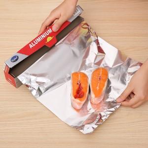 Màng nhôm bọc thực phẩm Aluminium Foil Eufood 30cm x 5m