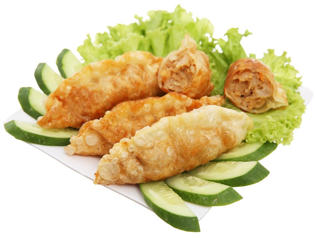 Bánh xếp Hàn quốc Bibigo nhân hải sản 175g 4