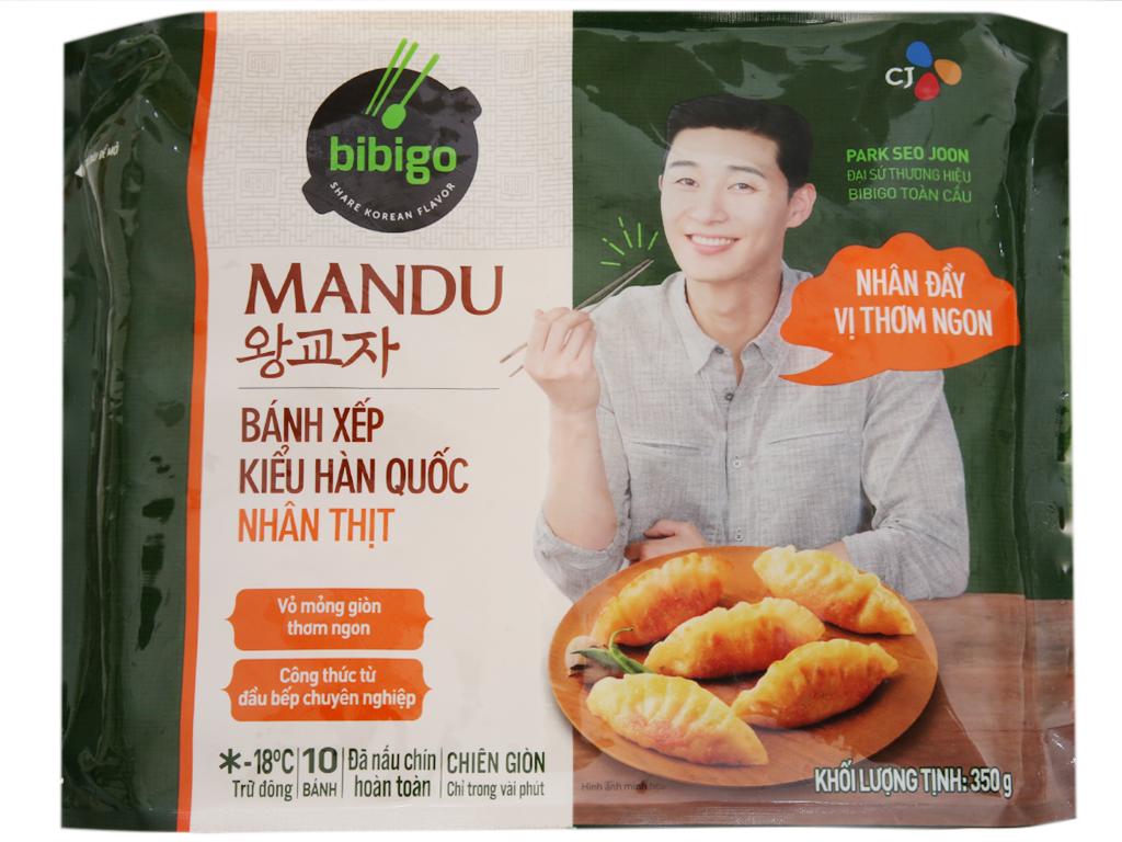 Bánh xếp Hàn quốc Bibigo nhân thịt 350g 1