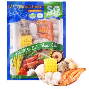 Lẩu hải sản thập cẩm SG Food gói 500g