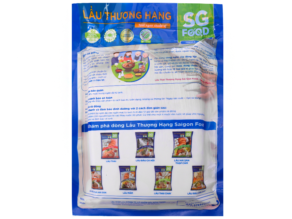 Lẩu Thái SG Food gói 500g 2