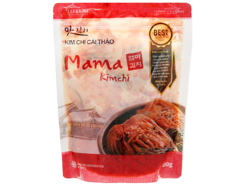 Kim chi cải thảo Mama gói 400g 1