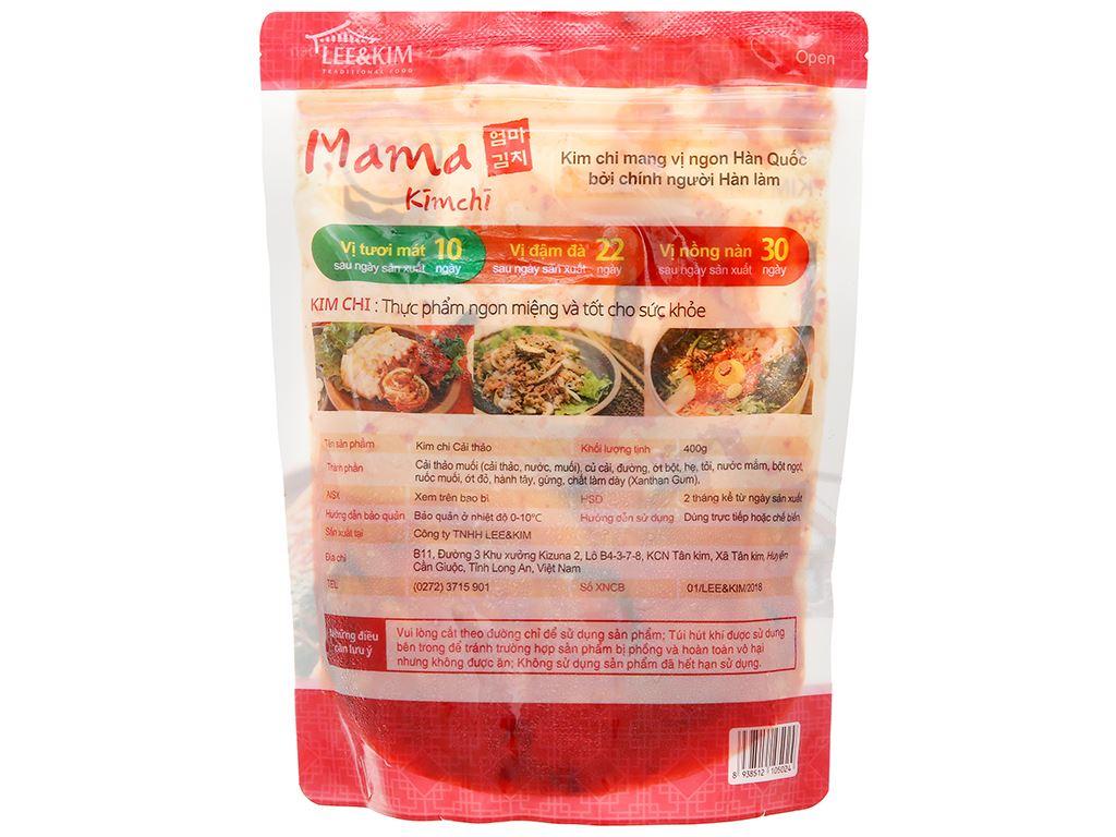 Kim chi cải thảo Mama gói 400g 2