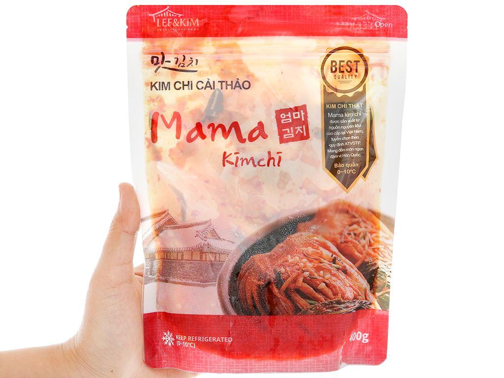 Kim chi cải thảo Mama gói 400g 4