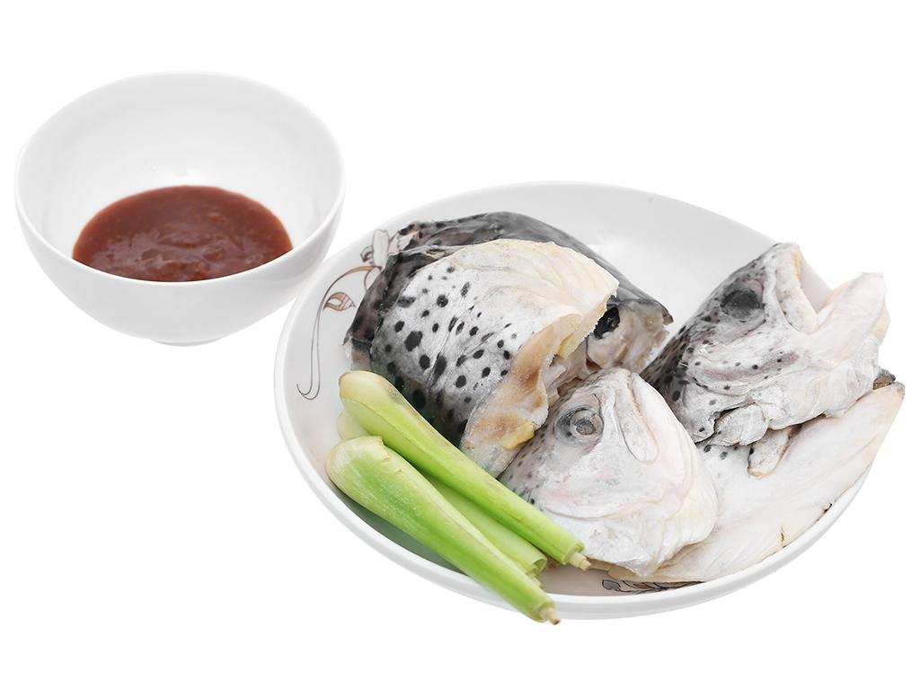 Lẩu đầu cá hồi Phi Long khay 500g 4