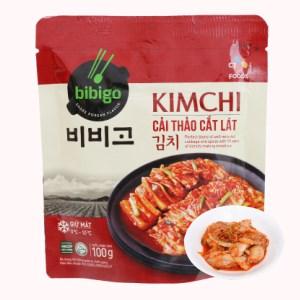 Kim chi cải thảo cắt lát Bibigo Ông Kim's gói 100g