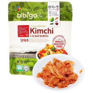 Kim chi cải bắp Koryo Bibigo Ông Kim's gói 100g