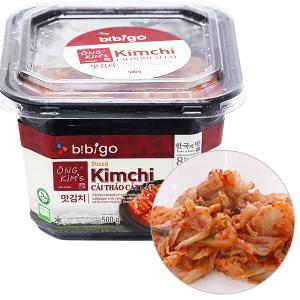 Kim chi cải thảo cắt lát Bibigo Ông Kim's hộp 500g