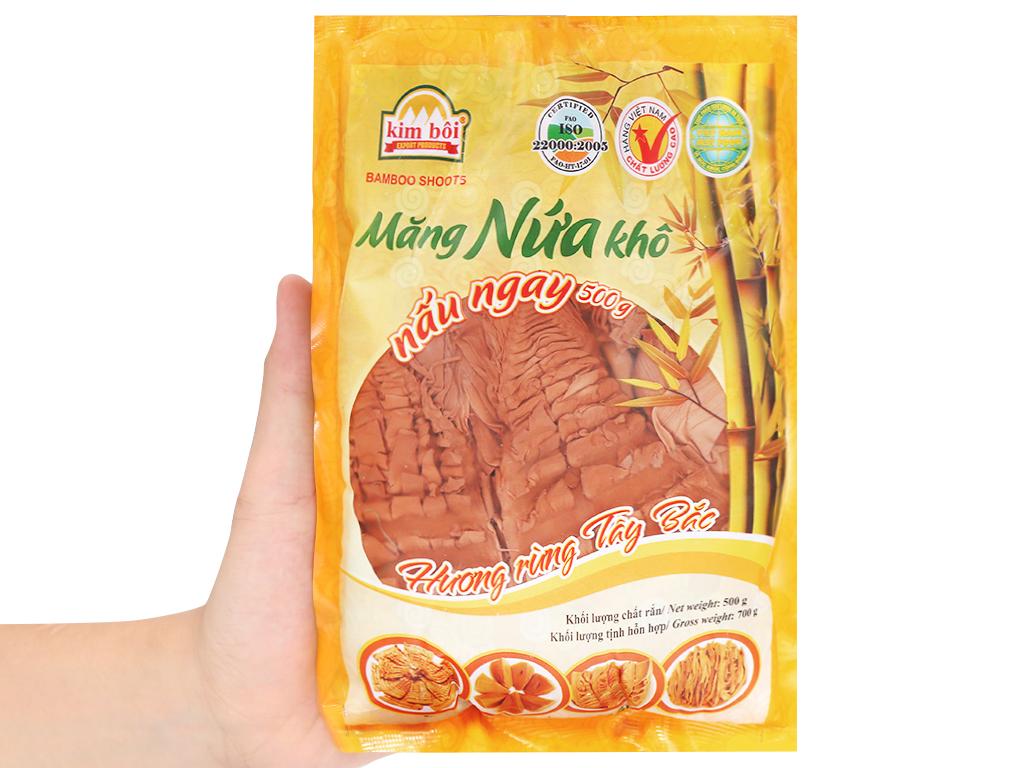 Măng nứa khô Kim Bôi gói 500g 3