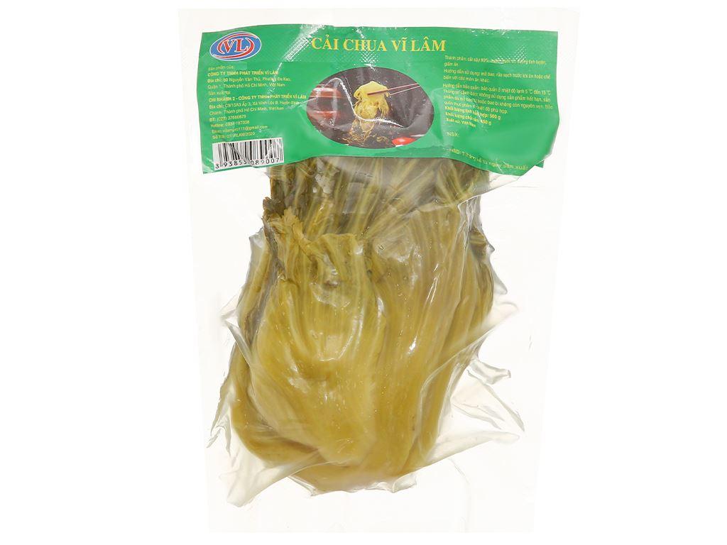 Cải chua Vĩ Lâm gói 500g 1