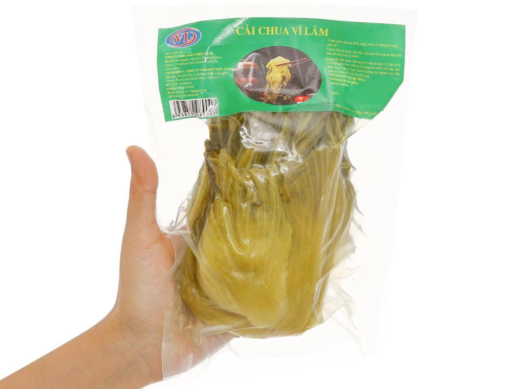 Cải chua Vĩ Lâm gói 500g 4