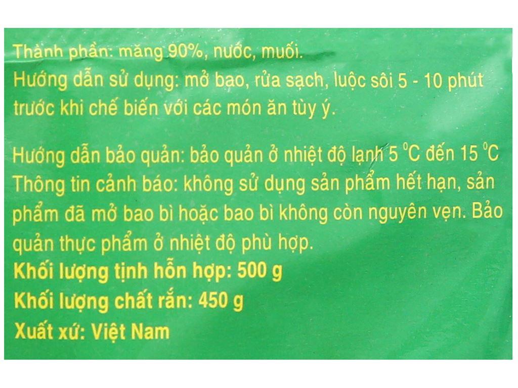 Măng luộc xé Vĩ Lâm gói 500g 3