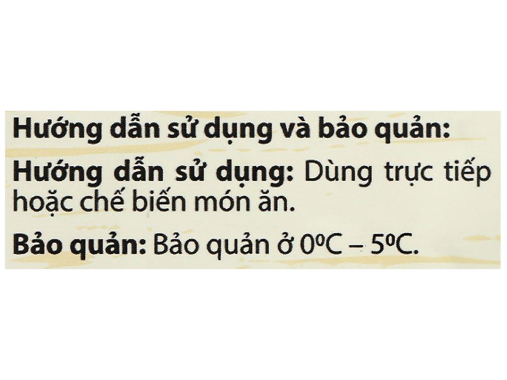 Kim chi củ cải vàng Orifood gói 350g 4