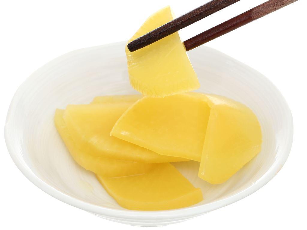 Kim chi củ cải vàng Orifood gói 350g 6