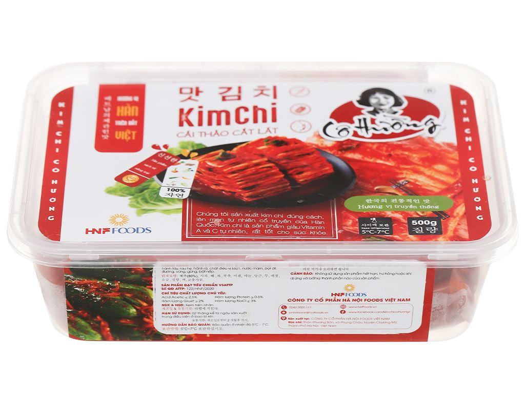 Kim chi cải thảo Cô Hường hộp 500g 2