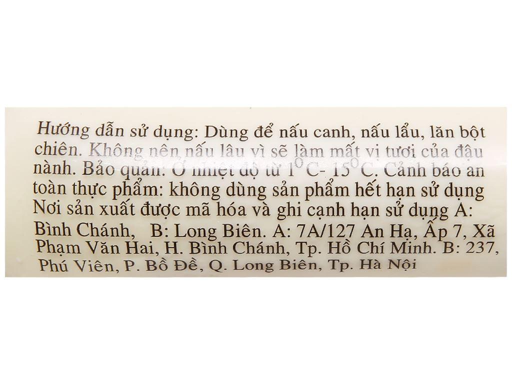 Đậu hũ lụa Vị Nguyên cây 220g 4