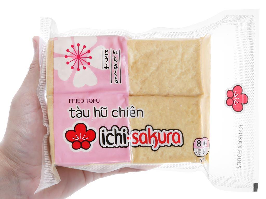 Tàu hũ chiên Ichi Sakura gói 500g 4