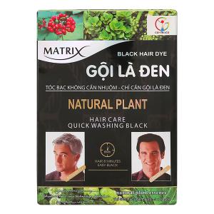Dầu gội Matrix nhuộm tóc đen 25ml