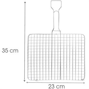 Vỉ nướng inox Tithafac 35x23 cm