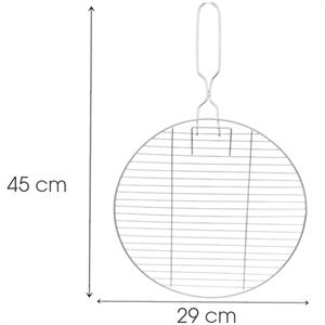 Vỉ nướng inox Tithafac 45x29 cm