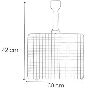 Vỉ nướng inox Tithafac 02 42x30 cm