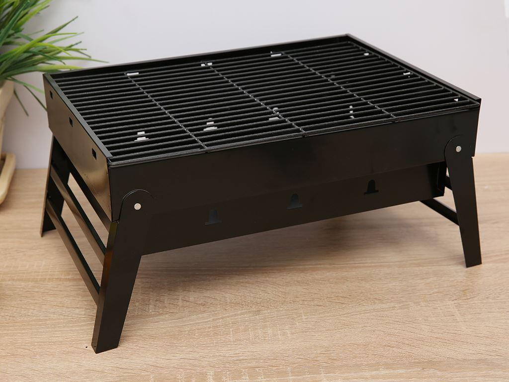 Bếp nướng than thép sơn tĩnh điện Rainy 38cm 1