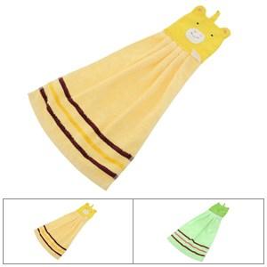 Khăn lau tay cotton có móc treo Latka KH954 29.5x52.5 cm