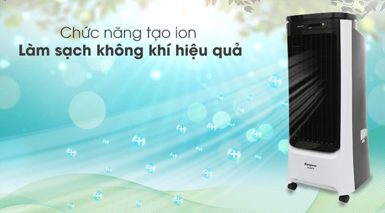 Tạo ion lọc không khí - Quạt điều hòa Kangaroo KG50F18