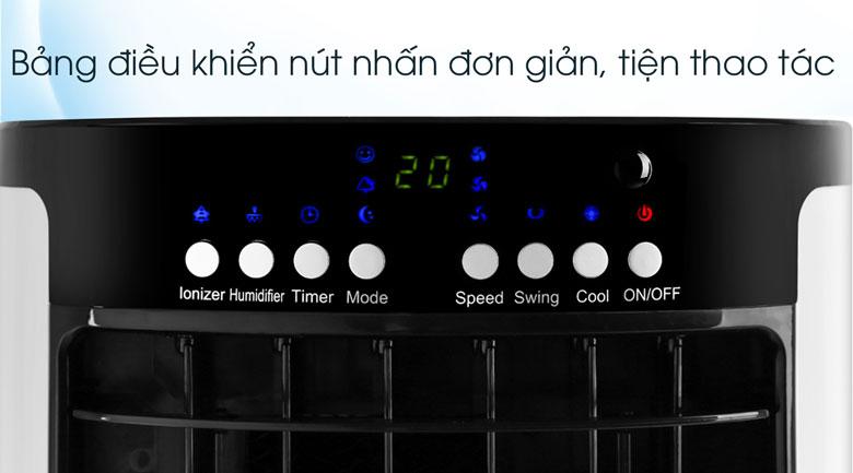 Bảng điều khiển nút nhấn tiện điều chỉnh - Quạt điều hòa Comfee CF-AC12AR