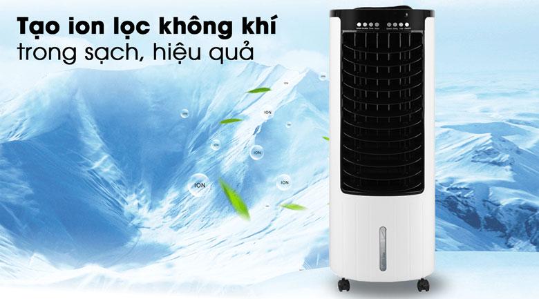 Chức năng tạo ion lọc sạch không khí - Quạt điều hòa Comfee CF-AC12AR