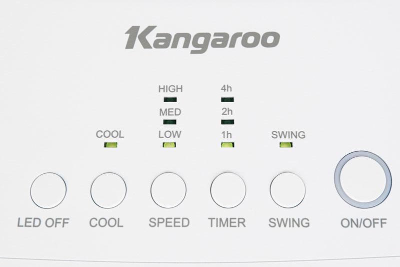 Bảng điều khiển nút nhấn dễ tùy chỉnh - Quạt điều hoà Kangaroo KG50F61