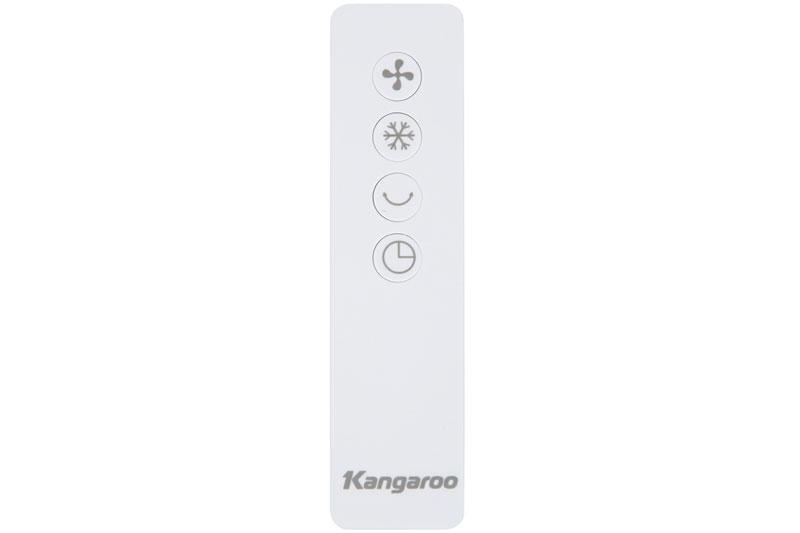 Thiết kế điều khiển từ xa tiện dụng - Quạt điều hoà Kangaroo KG50F61