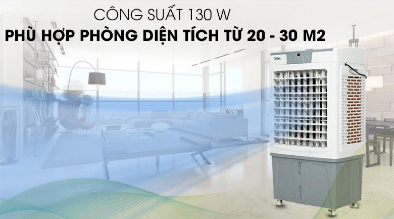 Công suất 130W - Quạt điều hòa Delites DEL-AC45AR