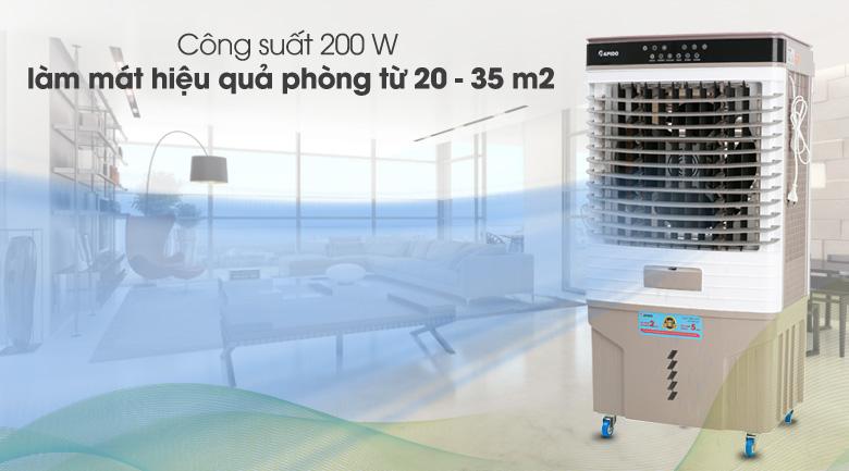 Làm mát tốt - Quạt điều hòa không khí Rapido 9000D