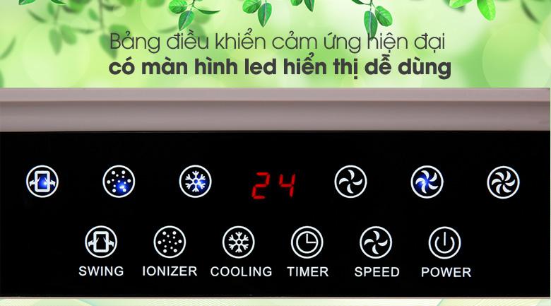 Hiện đại, dễ dùng - Quạt điều hòa không khí Rapido 9000D