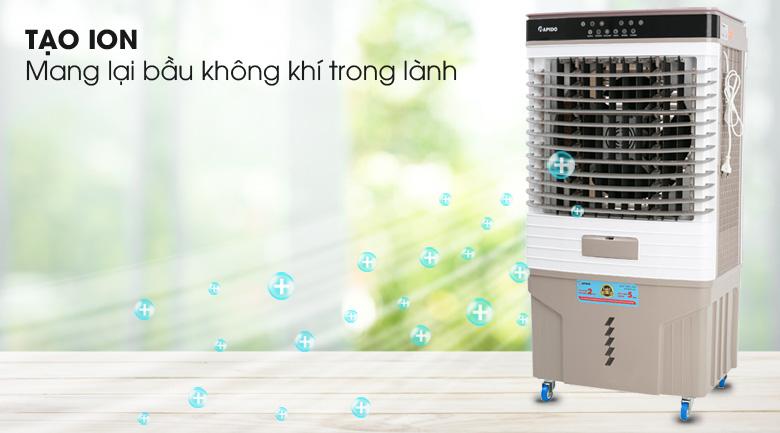 Chế độ ion lọc không khí - Quạt điều hòa không khí Rapido 9000D