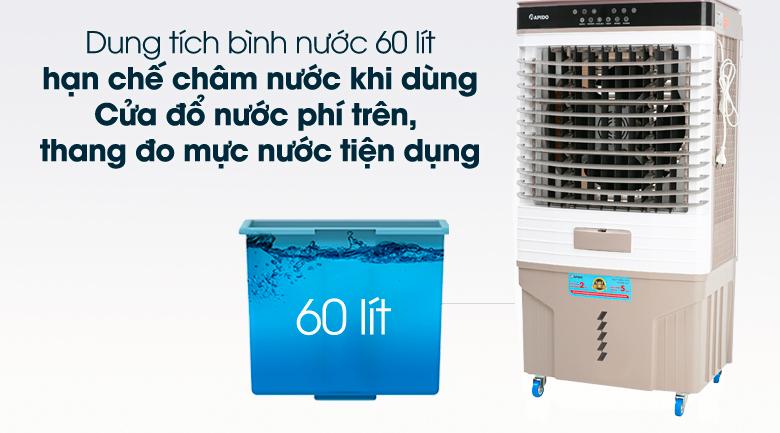 Bình chứa nước lớn - Quạt điều hòa không khí Rapido 9000D