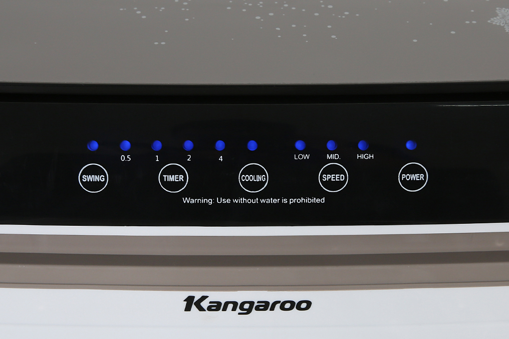 Bảng điều khiển - Quạt điều hòa Kangaroo KG50F79N